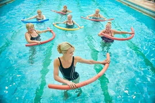 польза занятий аквааэробикой