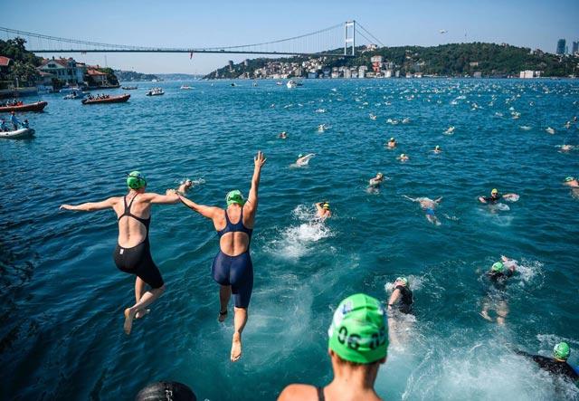 соревнования по плаванию на открытой воде